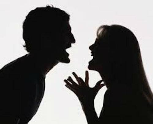 man and women yelling at each other domestic violence legal document services